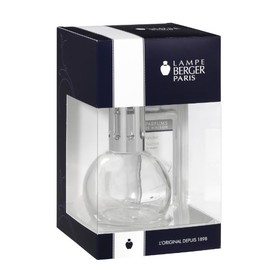 Duftlampe Geschenkset Bingo / Neutre Essentiel 18,4cm 180ml transparent Glas Lampe Berger 4401 (PACK = 1 LAMPE + 1  DUFT À 180ML) Produktbild