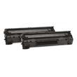 Toner 35AD für LaserJet P1055/1006/1007/1008 2x1500Seiten schwarz HP CB435AD (PACK=2 STÜCK) Produktbild