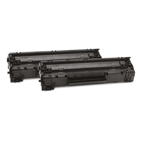 Toner 35AD für LaserJet P1055/1006/1007/1008 2x1500Seiten schwarz HP CB435AD (PACK=2 STÜCK) Produktbild Front View L