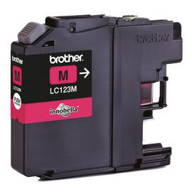 Tintenpatrone für DCP-J132W/MFC-4310DW 12ml magenta Brother LC-123M Produktbild