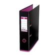 Ordner Oxford myColor A4 80mm schwarz/pink PP 100081035 Produktbild