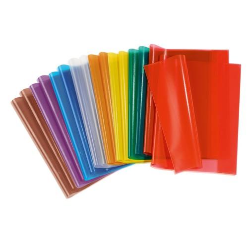 Heftumschlag A4 transparent farblos Kunststoff Herma 7490 Produktbild Additional View 1 L