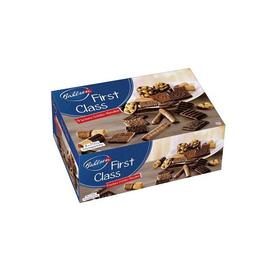 Keks- und Waffelmischung mit Vollmilch- schokolade (23%) und edelherber Schoko- lade (18%) und schokolade (2,4%) (PACK=2 KILOGRAMM) Produktbild
