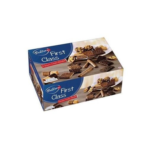 Keks- und Waffelmischung mit Vollmilch- schokolade (23%) und edelherber Schoko- lade (18%) und schokolade (2,4%) (PACK=2 KILOGRAMM) Produktbild Front View L