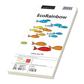 Briefumschlag RAINBOW ohne Fenster 114x229mm mit Haftklebung 80g hellchamois (PACK=250 STÜCK) Produktbild