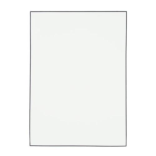 Trauerbogen PRIVAT Handgerändert schwarz A4 90g weiß Römerturm (PACK=100 BLATT) Produktbild Front View L