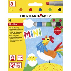 Gelmalstifte Set Kartonetui farbig sortiert Eberhard Faber 529006 (PACK=6 STÜCK) Produktbild
