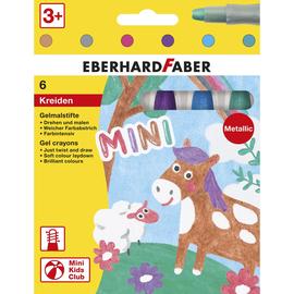 Gelmalstifte Metallic Set Kartonetui farbig sortiert Eberhard Faber 529106 (PACK=6 STÜCK) Produktbild