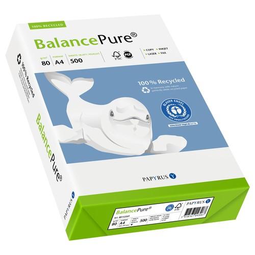 Kopierpapier Balance Pure A4 80g Recycling 88289639 (PACK=500 BLATT) Produktbild Additional View 1 L