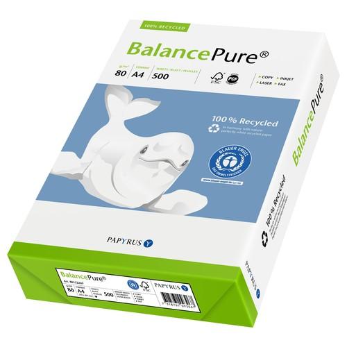 Kopierpapier Balance Pure A4 80g Recycling 88289639 (PACK=500 BLATT) Produktbild