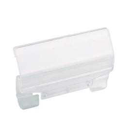 Vollsichtreiter für Hängemappen 60x33mm transparent PP Leitz 6116-00-03 (PACK=50 STÜCK) Produktbild