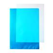 Sichthüllen oben + rechts offen A4 120µ blau PP 00517312 (PACK=100 STÜCK) Produktbild Additional View 1 S