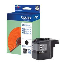Tintenpatrone für Brother MFC-J6520/MFC-J6720 38ml schwarz Brother LC-129XLBK Produktbild