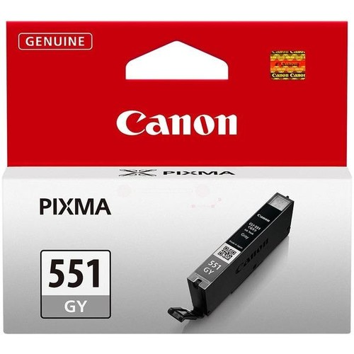 Tintenpatrone CLI-551GYXL für Canon Pixma IP87500/MG6350 grau 11ml Canon 6447B001 Produktbild Additional View 1 L