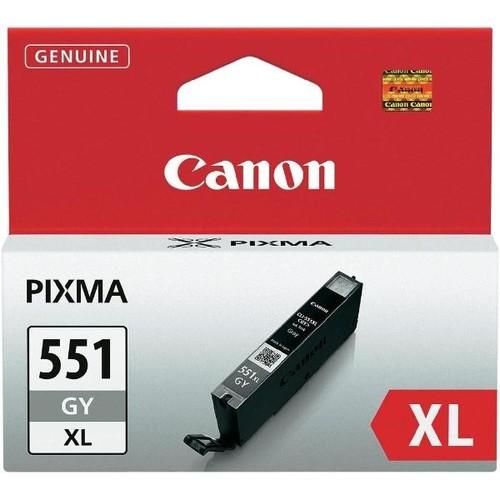 Tintenpatrone CLI-551GYXL für Canon Pixma IP87500/MG6350 grau 11ml Canon 6447B001 Produktbild