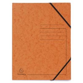 Eckspanner A4 GZ orange Karton Exacompta 555414E (PACK=5 STÜCK) Produktbild