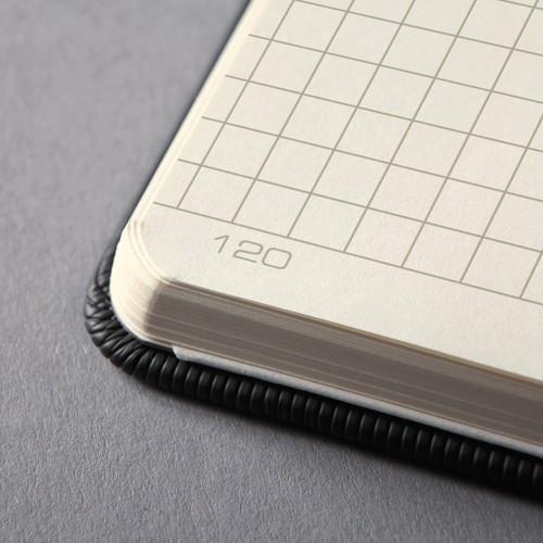 Notizbuch CONCEPTUM Softwave kariert A4+ 225x315mm 194Seiten schwarz Hardcover Sigel CO115 Produktbild Additional View 6 L