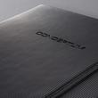 Notizbuch CONCEPTUM Softwave kariert A4+ 225x315mm 194Seiten schwarz Hardcover Sigel CO115 Produktbild Additional View 8 S