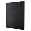 Notizbuch CONCEPTUM Softwave mit Magnetverschluss liniert A4+ 245x315mm 194Seiten schwarz Hardcover SIgel CO142 Produktbild