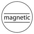 Notizbuch CONCEPTUM Softwave mit Magnetverschluss liniert A4+ 245x315mm 194Seiten schwarz Hardcover SIgel CO142 Produktbild Additional View 9 S