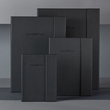 Notizbuch CONCEPTUM Softwave mit Magnetverschluss liniert A4+ 245x315mm 194Seiten schwarz Hardcover SIgel CO142 Produktbild Additional View 8 S