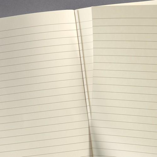Notizbuch CONCEPTUM Softwave mit Magnetverschluss liniert A4+ 245x315mm 194Seiten schwarz Hardcover SIgel CO142 Produktbild Additional View 6 L