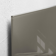 Glas-Magnetboard artverum 120x780x15mm taupe inkl. Magnete Sigel GL108 Produktbild Additional View 2 S