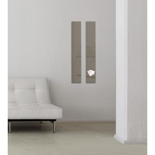 Glas-Magnetboard artverum 120x780x15mm taupe inkl. Magnete Sigel GL108 Produktbild Additional View 7 L