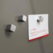 Glas-Magnetboard artverum 120x780x15mm taupe inkl. Magnete Sigel GL108 Produktbild Additional View 4 S
