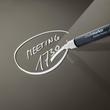 Glas-Magnetboard artverum 120x780x15mm taupe inkl. Magnete Sigel GL108 Produktbild Additional View 5 S