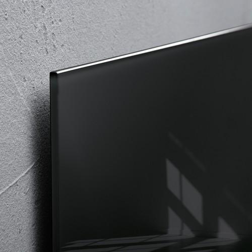 Glas-Magnetboard artverum 300x300x15mm schwarz inkl. Magnete Sigel GL157 Produktbild Additional View 2 L
