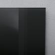 Glas-Magnetboard artverum 300x300x15mm schwarz inkl. Magnete Sigel GL157 Produktbild Additional View 3 S