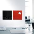 Glas-Magnetboard artverum 300x300x15mm rot inkl. Magnete Sigel GL159 Produktbild Additional View 6 S
