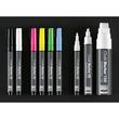 Kreidemarker 20 artverum 1-2mm Rundspitze pink/gelb/grün/blau abwisch- bar und fluoreszierend Sigel GL179 (PACK=4 STÜCK) Produktbild Additional View 3 S