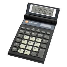 Taschenrechner 8-stelliges Display 82x15x130mm Solar-/Batteriebetrieb Triumph Adler L819 Solar Produktbild