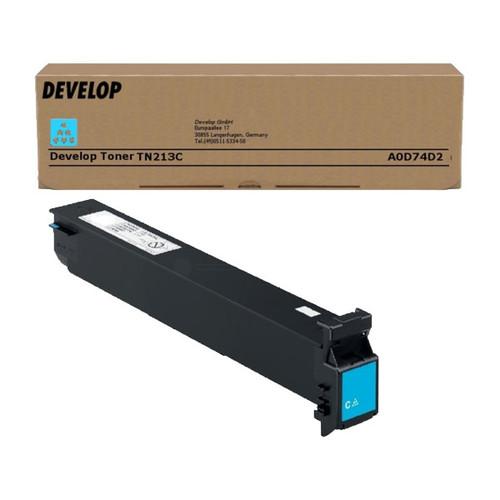Toner TN-213C für Ineo + 203/253 19000 Seiten cyan Develop A0D74D2 Produktbild Front View L