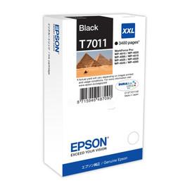 Tintenpatrone T7011XXL für Epson WP4015DN/WP4525DNF 3400Seiten schwarz Epson T701140 Produktbild