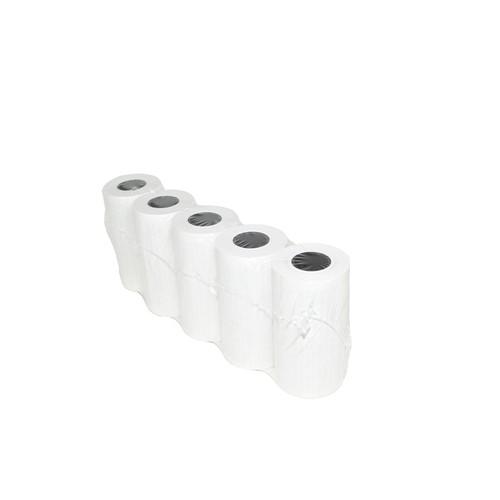 Thermorolle EC-Cash 57mm x 9m x 12mm 1-fach Schicht aussen/Lastschriftdruck innen 10775100 (ST=9 METER) Produktbild Front View L