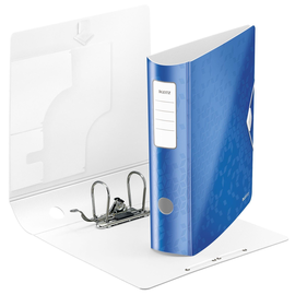 Ordner 180° Active WOW A4 80mm blau metallic Kunststoff Leitz 1106-00-36 Produktbild