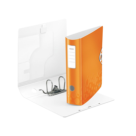 Ordner 180° Active WOW A4 80mm orange metallic Kunststoff Leitz 1106-00-44 Produktbild