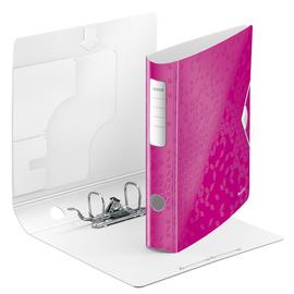Ordner 180° Active WOW A4 60mm pink metallic Kunststoff Leitz 1107-00-23 Produktbild