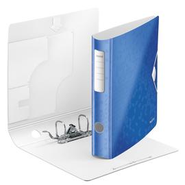 Ordner 180° Active WOW A4 60mm blau metallic Kunststoff Leitz 1107-00-36 Produktbild
