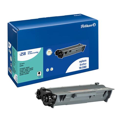 Toner Gr. 1258HC (TN-3380) für HL-5440D/5450DW/5470DW 8000 Seiten schwarz Pelikan 4222817 Produktbild Front View L
