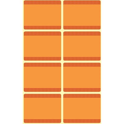 Tiefkühl-Etiketten 36x28mm orange Zweckform 59370 (BTL=40 STÜCK) Produktbild Additional View 1 L