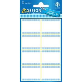 Tiefkühl-Etiketten 36x28mm weiß Zweckform 59371 (BTL=40 STÜCK) Produktbild