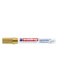 Mattlack-Marker 4040 1-2mm Rundspitze gold Edding 4-4040053 Produktbild