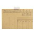 Vollsichtreiter für Einstellmappen 3-zeilig 50mm breit transparent Leitz 2455-00-00 (PACK=50 STÜCK) Produktbild
