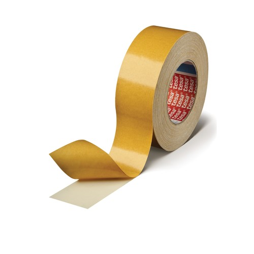Doppelband tesafix 30mm x 50m beidseitig klebend weiß Tesa 04964-00077-00 (RLL=50 METER) Produktbild