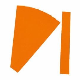 Einsteckkarten für magnetische Schienen 60x15mm orange Ultradex 849204 (PACK=220 STÜCK) Produktbild