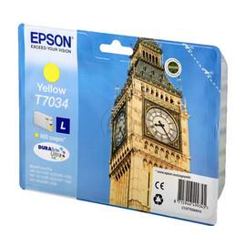 Tintenpatrone T7034 für Epson WP4015DN/WP4025DW 800Seiten yellow Epson T703440 Produktbild